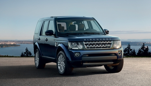 Discovery HSE SUV by Land Rover in London Has Fallen