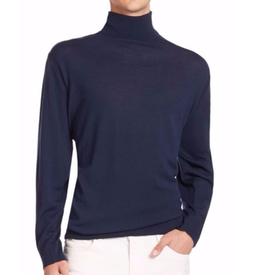 Merino Turtleneck Sweater by Michael Kors in Free Fire