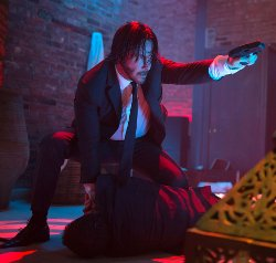 Custom Made Suit by Luca Mosca (Costume Designer) in John Wick
