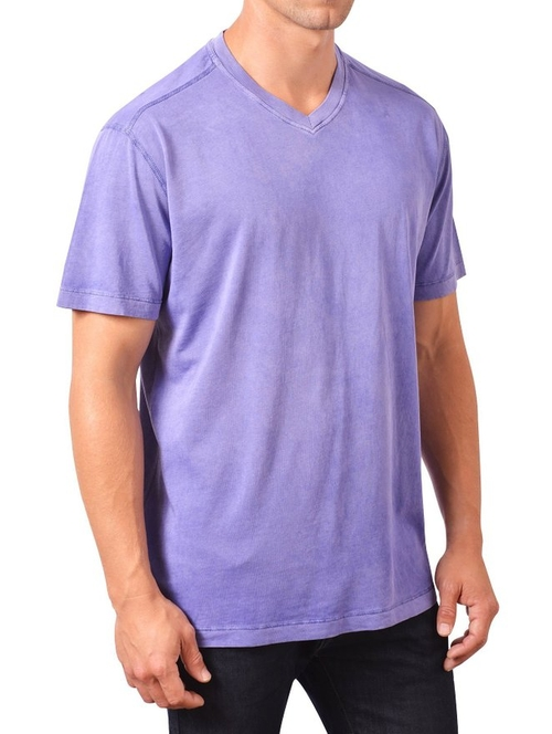 Short-Sleeve V-Neck T-Shirt by Minerals in The Big Lebowski