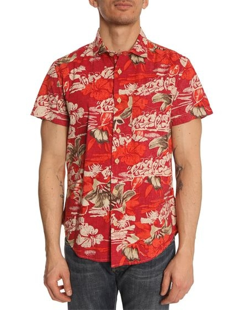 Bruce Short-Sleeved Shirt by Woolrich in Fight Club