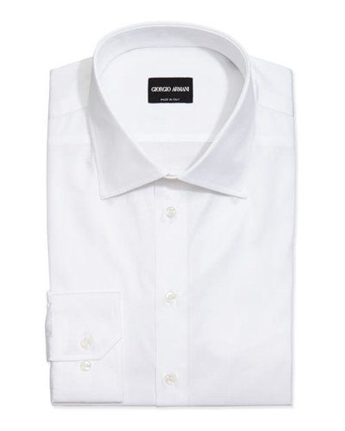 Basic Cotton Dress Shirt by Giorgio Armani in The Age of Adaline