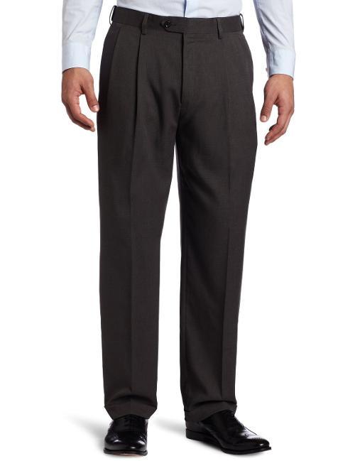 Men's Soft Plaid Pant by Savane in St. Vincent