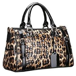 Luxury Leather Handbag by Alisa in Fuller House