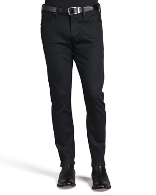 Straight-Fit Denim Jeans by Ralph Lauren Black Label in Thor