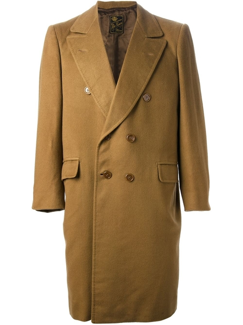 Double Breasted Coat by Sartoria Italiana Vintage in Begin Again