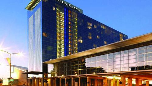 Westin Grand Cape Town, South Africa (depicted as Seattle, Washington) in Chronicle