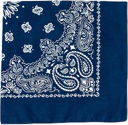 Military Trainmen Paisley Jumbo Bandana by Galaxy Army Navy in St. Vincent