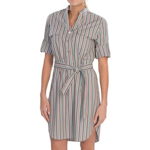 Graydon Derby Stripe Dress by Lafayette 148 New York in Lee Daniels' The Butler