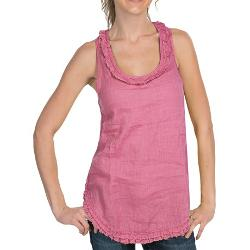 Raw Edge Ruffle Tank Top by Dylan by True Grit in The Best of Me