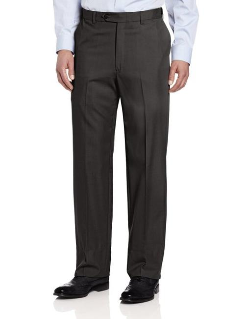 Expander Flat Front Pant by Ascott Browne in Ride Along