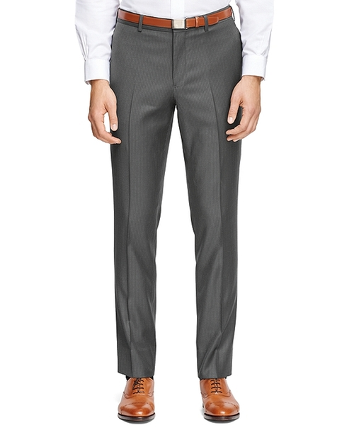 Stripe Suit Trousers by Brooks Brothers in Bridge of Spies