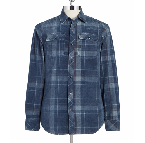 Plaid Corduroy Sportshirt by G-Star Raw in Shadowhunters