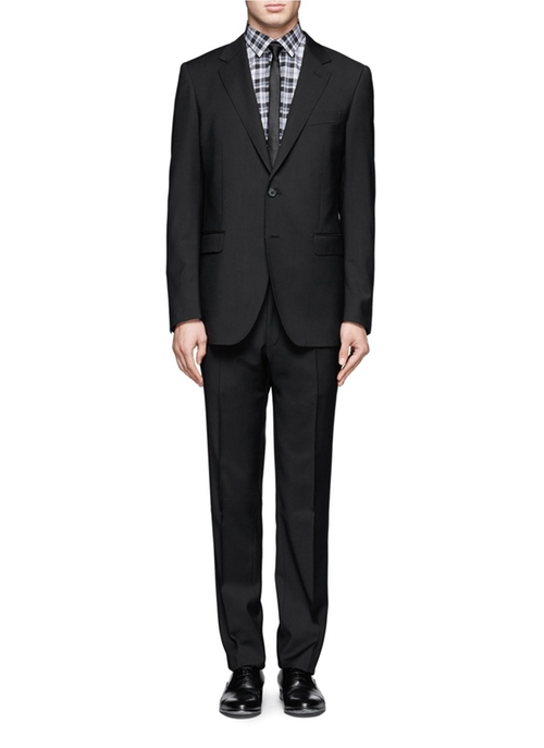 Wool Notched Lapel Suit by Lanvin in Survivor