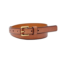 'Explorer Buckle' Leather Belt by Fossil in The Boss