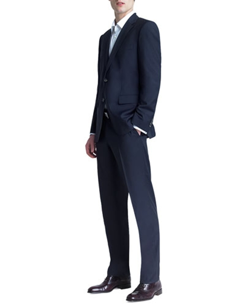 Basic Two-Button Suit by Boss Hugo Boss in Ex Machina
