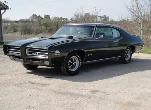 1969 GTO Coupe by Pontiac in Sleepless