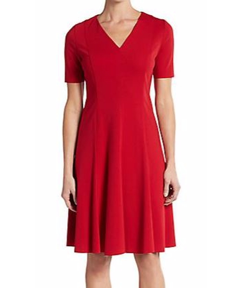Valencia Seamed A-Line Dress by T Tahari in The Notebook