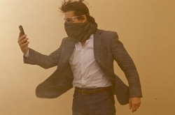 Custom Made Two Piece Suit by Michael Kaplan (Costume Designer) in Mission: Impossible - Ghost Protocol