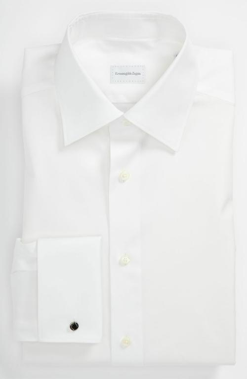 Regular Fit Dress Shirt by Ermenegildo Zegna in Savages
