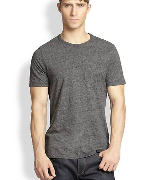 Flecked Crewneck Tee by Rag & Bone in The Boy Next Door