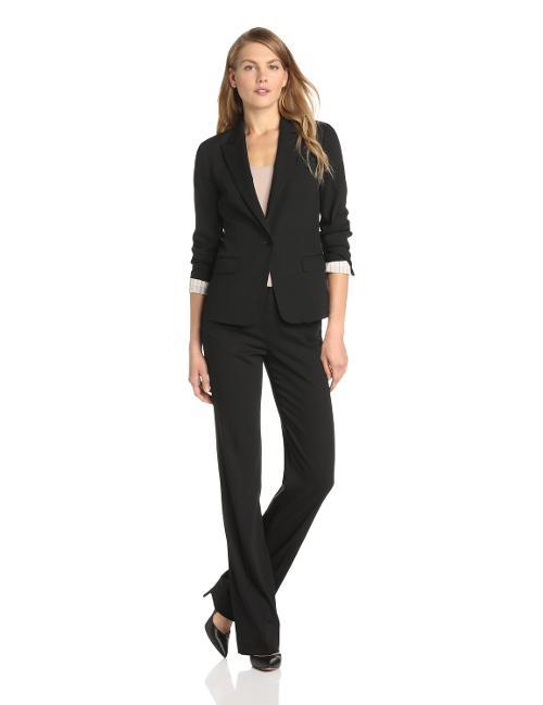 Women's Gabe Habitat Button Blazer by Theory in Kingsman: The Secret Service