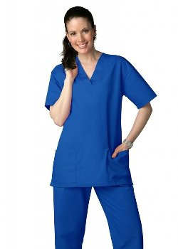 Unisex Drawstring Scrub Set by Adar Uniforms in Dolphin Tale 2