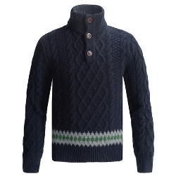 Kirk Sweater by Barbour in Pan