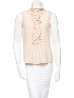 Sleeveless Top with Ruffles by Chloé in Lee Daniels' The Butler