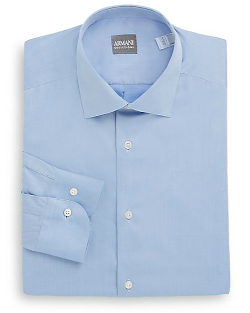 Cotton Dress Shirt by Armani Collezioni in Beyond the Lights