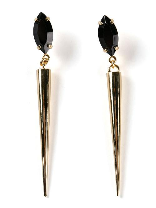 Divine Spike Earrings by Tomtom in Lucy