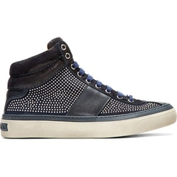 Studded Belgravia Sneakers by Jimmy Choo in Empire
