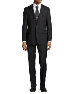 Solid Two-Piece Suit by Hugo Boss in Life