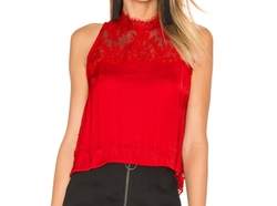 Tied to You Lace Top by Free People in Designated Survivor
