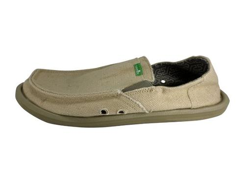 Men's Pick Pocket Hemp Slip On by Sanuk in Couple's Retreat