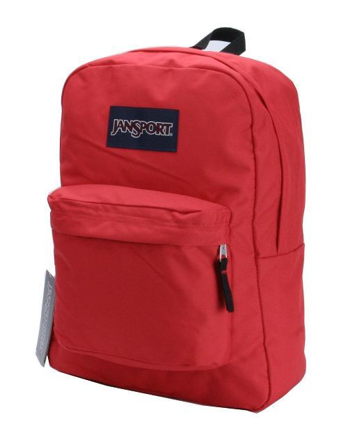 High Risk Red Superbreak Schoolbag Backpack Book Bag by Jansport in Let's Be Cops