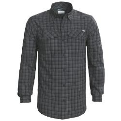 Silver Ridge Plaid Shirt by Columbia Sportswear in Contraband