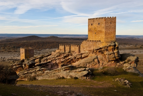 Castle of Zafra (Depicted as Tower of Joy) Guadalajara, Spain in Game of Thrones - Season 6 Episode 10 - The Winds of Winter