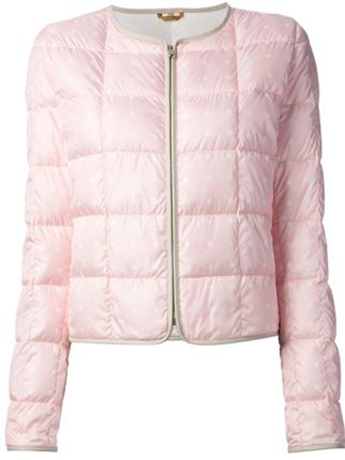 Polka Dot Quilted Jacket by Fay in Mean Girls