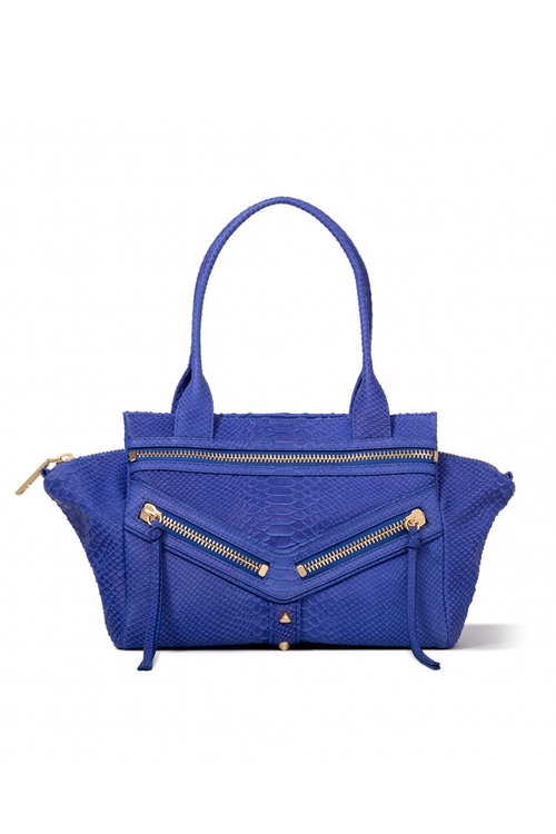 Trigger Satchel In Cobalt by Botkier in Pretty Little Liars - Season 6 Episode 15