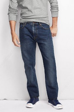 Men's Straight Fit Jeans Pants by NQP in McFarland, USA