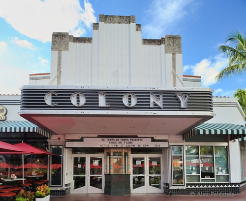 Colony Theatre Miami Beach, Florida in Ballers - Season 1 Episode 1 - Pilot