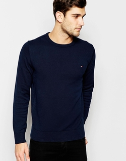 Crew Neck Sweater by Tommy Hilfiger in The Intern