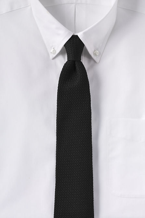 Woven Grenadine Necktie by Lands' End in Ant-Man