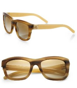 P Square  Sunglasses by Tory Burch in Couple's Retreat