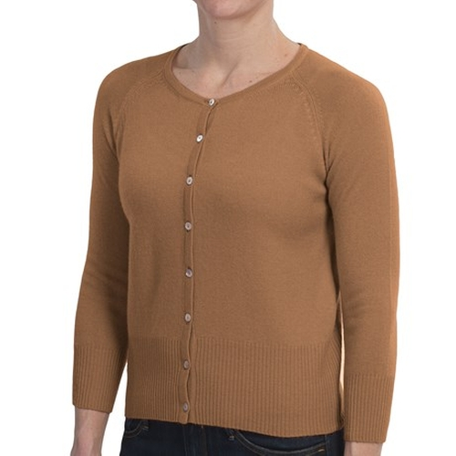 Cashmere Cardigan Sweater by Brodie in Supergirl