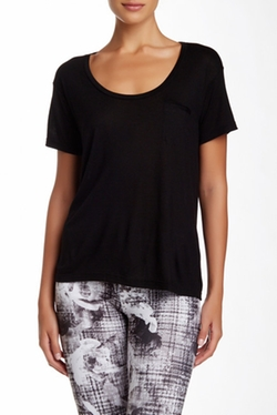 Scoop Neck Boyfriend Tee Shirt by David Lerner in Straight Outta Compton