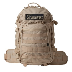 Tactical Backpack, Tan by 12 Survivors in Ballers