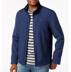 Softshell Classic Zip Jacket by Tommy Hilfiger in Office Christmas Party