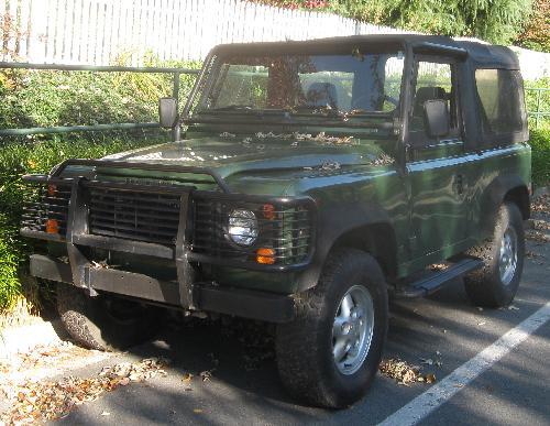 DEFENDER by Land Rover in Blended